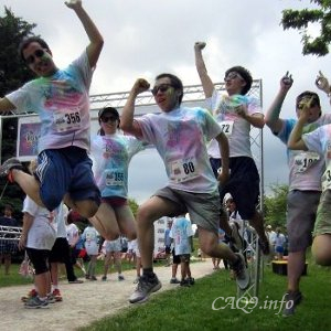 ColorRun with colleagues